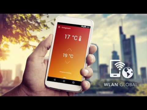 Application permettant de contrôler la température du chauffage.