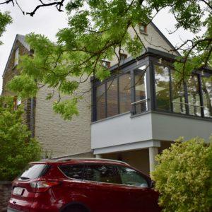 Image d'une extension maison